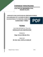 SUSTITUCION DE AGREGADOS PETREOS