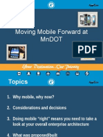 Going Mobile at MnDOT