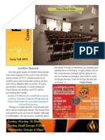 FCC Newsletter Early Fall 2015