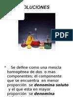 Quimica soluciones