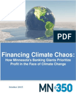 Financing Climate Chaos