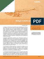 Biología Evolutiva Para El Siglo Xxi
