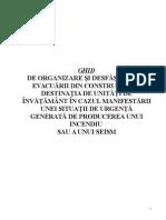 GHID Evacuare Unitati Invatamant FS 2015