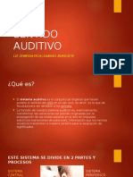 Sentido Auditivo 2015