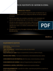 PPT_ Seleccion de Secretaria ejecutiva