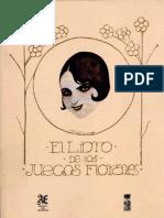 El Libro de Los Juegos Florares, Magallanes Moure