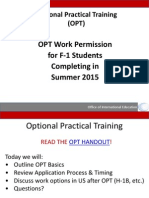 Opt Spring Ppt