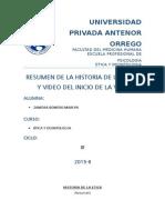Etica Resumen de La Historia de La Etica