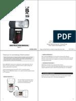 Nissin Di866 Flash User Manual