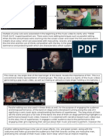 Music Video Analysis- Dont Stop