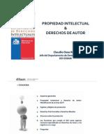 Propiedad Intelectual y derechos de autor