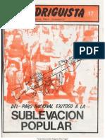 EL RODRIGUISTA (FPMR-PC) N° 17 [1986, Julio]