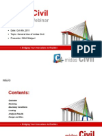 20111004 MIDAS Civil Advanced Webinar Presentation