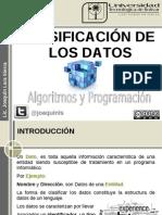 datos clasificación
