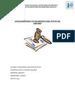 Antecedentes y Fundamento Del Juicio de Amparo