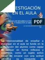investigacion aula