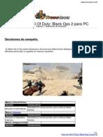 Guia Call of Duty Black Ops 2 Pc