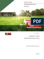Sudbury Town Neighbourhood Plan