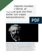 Las 5 Mejores Novelas de Julio Verne