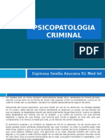 Psineuropatologia Criminal