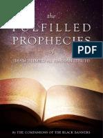 Fullfilled Prophecies of Imam Ahmed Al-Hassan (pbuh)