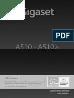 Siemens Gigaset A510/A510a mode d'emploi (version complète) fr fr