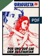EL RODRIGUISTA (FPMR-PC) N° 26 [1987, Julio]