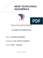 Student_s Portfolio Level 1 Andres Moreira @