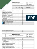 Chek-list Electrico - Pauta Mantencion Sept-2015