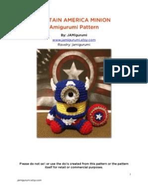 Musings of an Average Mom: Free Superhero Crochet Patterns | 396x298