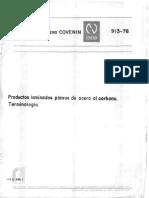913-1976 - Productos Laminados de Acero Al Carbono