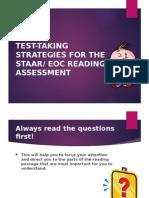 test-taking strategies for the staar eoc test ppt
