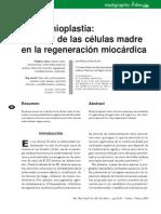 Cardiomioplastia El Papel de Las Celulas Madre en La Regeneracion Miocardica