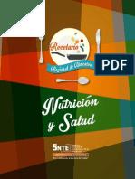 Recetario Nutrición Saludable