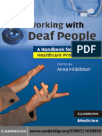 Working With Deaf People (a Manual for Healthcare Professionals)(2009)BBS