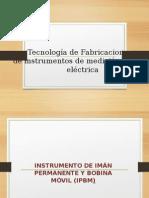 Tecnología de Fabricacion DE INSTRMENTOS DE MEDICIO