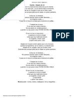 Letra de Alejate de Mi de Camila - MUSICA