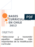 Bases Curriculares 2012