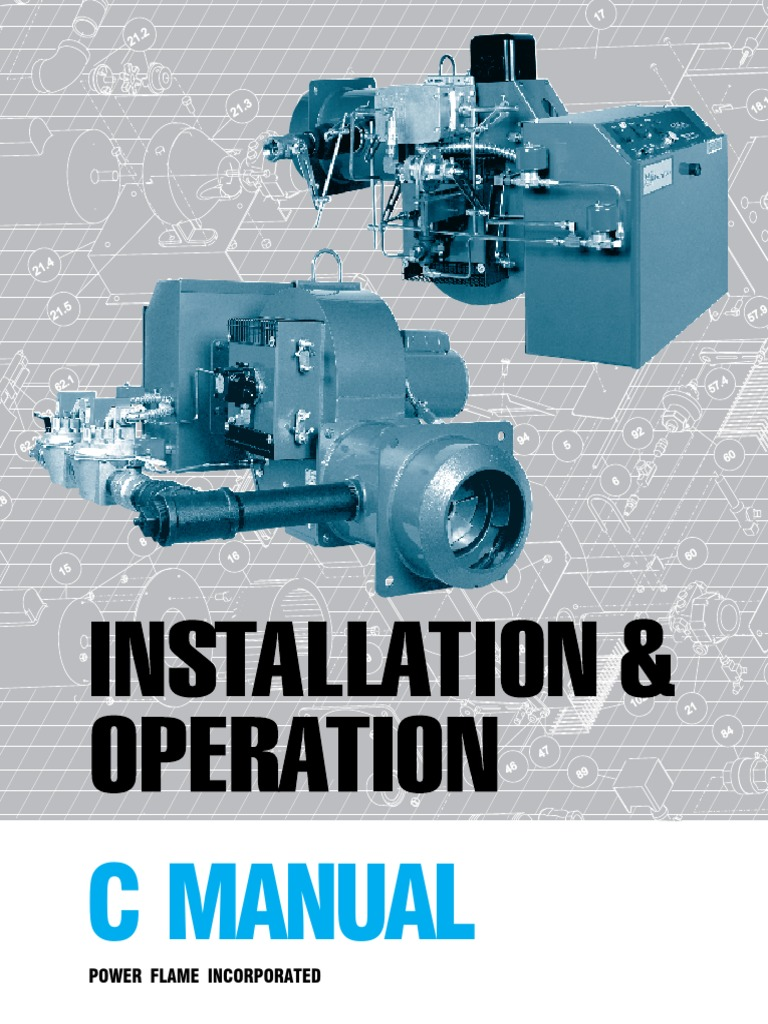 C-manual | Valve | Combustion