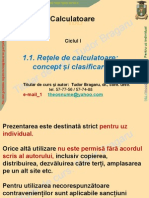 Concept Clasificare RC