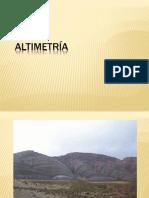 Altimetria Topo II