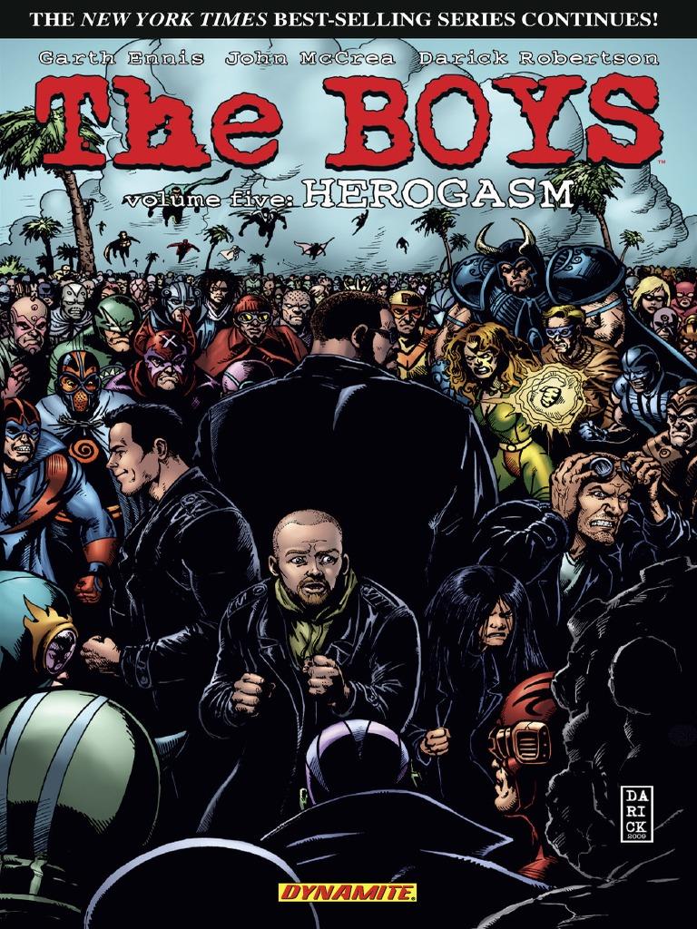 The Boys Herogasm Superhero Fiction Speculative Fiction