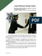 26.10.2014 Vamos Por Una Mejor Policía Para Durango Esteban