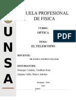 Monografia Del Telescopio