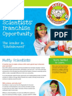 NuttyScientists Franchise Brochure English
