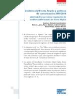 Políticas de Comunicación Durante El Gobierno Mujica