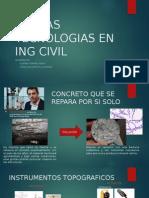 Nuevas Tecnologias en Ing Civil