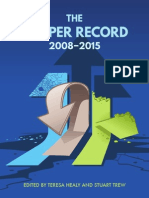 CCPA - The Harper Record 2008-2015
