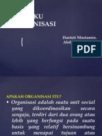 Materi Perilaku Organisasi - 2015