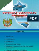 La Defensa Nacional y El Desarrollo Sostenible en El Perú